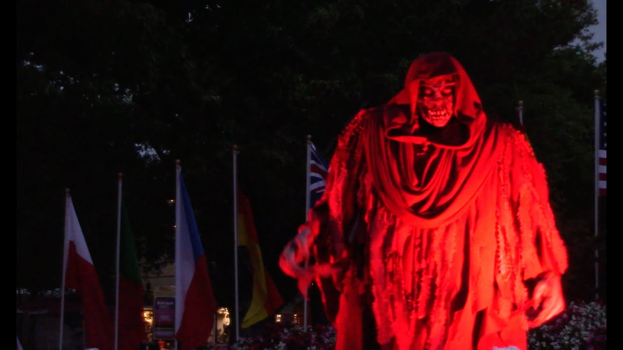 Overlord's Scaremony 2015 Kings Dominion Halloween Haunt HD 60fps ...