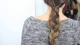 Peinados fáciles con trenzas | What The Chic Thumbnail