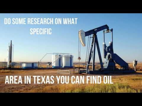 Oil Well Exploration in Texas Tips and Advice - INVEST-IN-OIL.COM