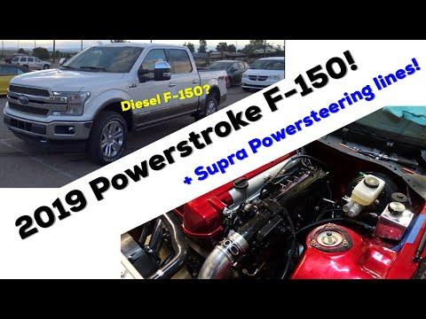 DIESEL F- | . V Powerstroke + Custom JZ Power steering cooler/ lines