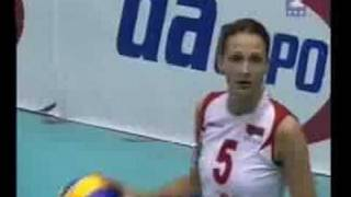 Kasia Skorupa (końcówka meczu polska-serbia Belgrad 08)