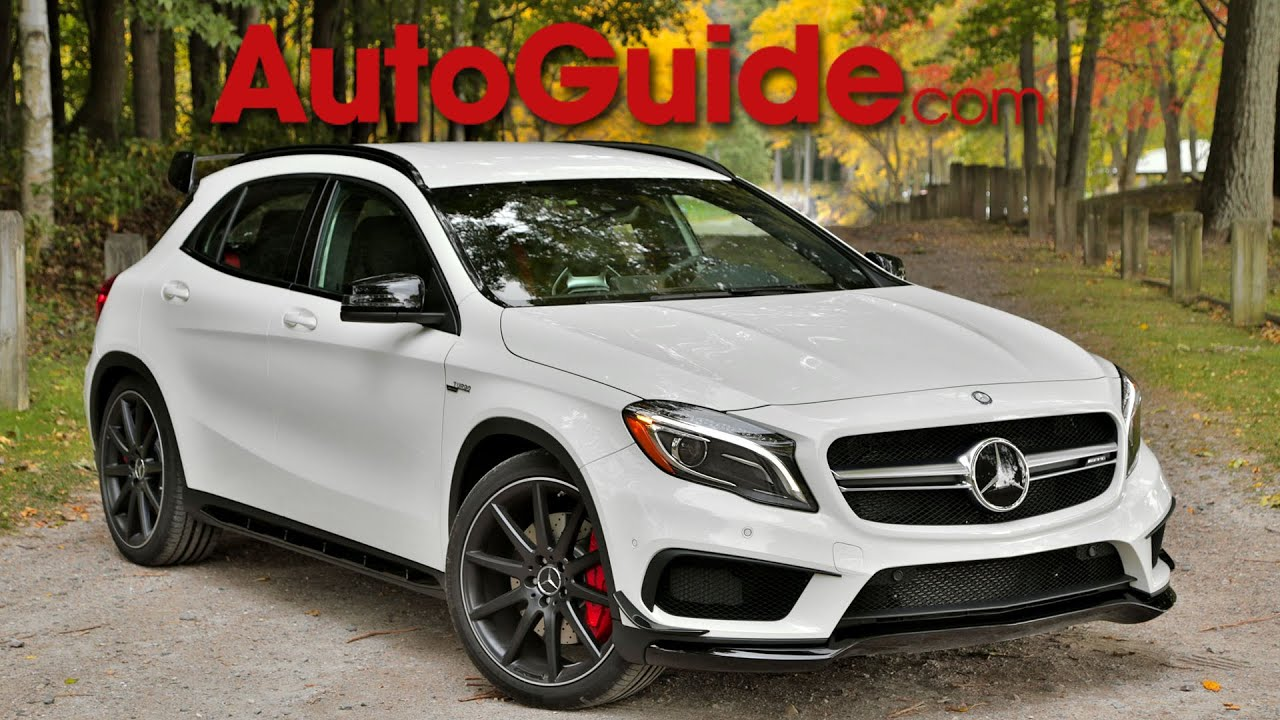 2015 mercedes benz gla 45 amg review first drive youtube. Black Bedroom Furniture Sets. Home Design Ideas