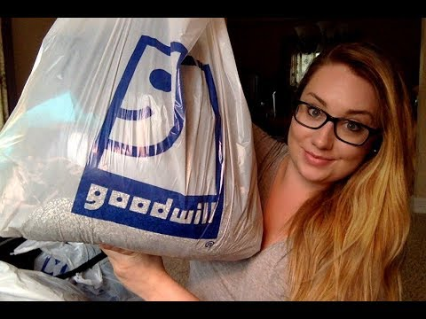 Goodwill Retail and Outlet Haul | Reselling on eBay!