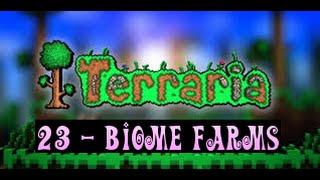 Terraria Tutorial 'Biome Farms'