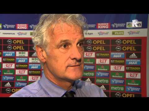 Fred Rutten na afloop van Feyenoord - Heracles Almelo