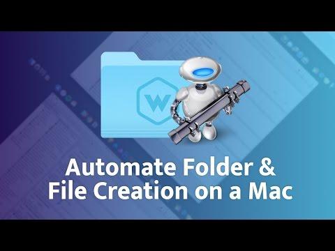 How I Automate Folder and File Creation on a Mac ⚙ 💻