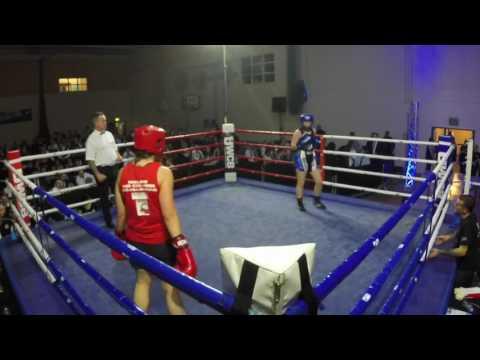 Ultra White Collar Boxing | Hemel Hempstead | Pauline O'Callaghan VS Nikki Sear