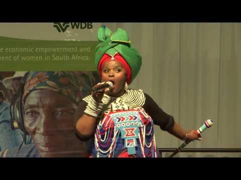 Poet Jessica Mbangeni
