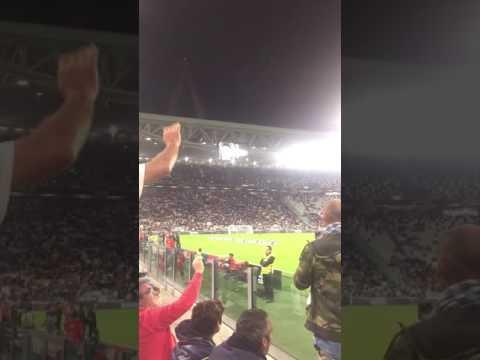 Juventus-Cagliari 4-0 - Formazioni - Primo Anello Ovest