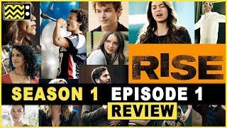Rise Season 1 Episode 1 Review & Reaction w/ Brett Gray | AfterBuzz TV