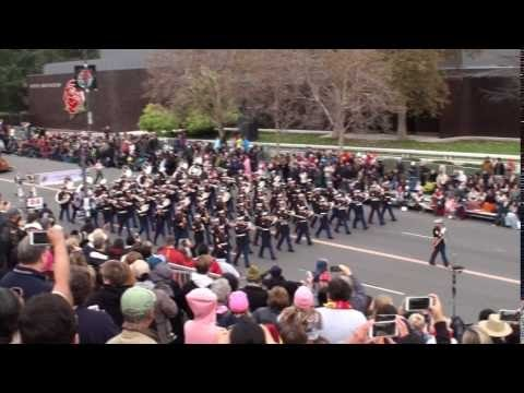 USMC West Coast Composite Band - 2017 Pasadena Rose Parade