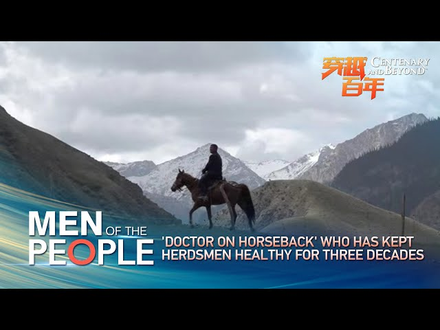 Men of the people: 'Doctor on horseback' who has kept herdsmen healthy for three decades