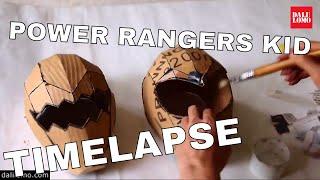 Timelapse - Power Rangers Helmet (2014 DIY Cosplay)