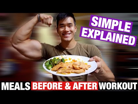 How I Eat My PRE & POST Workout Meals Simple Explained | Ep.7