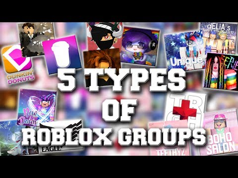 5 Types Of ROBLOX Groups
