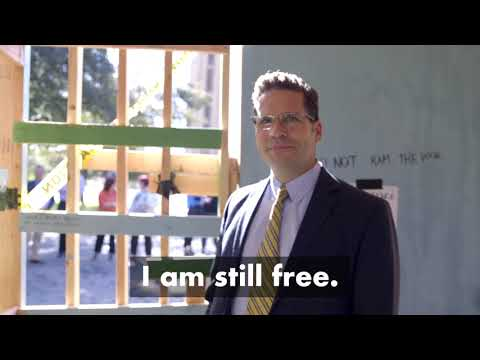 Provost Sanford Visits the Charity Week Jail (2019)