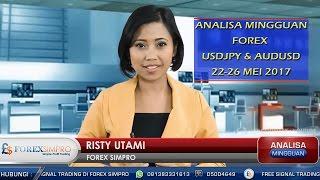 Analisa Mingguan Forex USDJPY & AUDUSD 22-26 Mei 2017