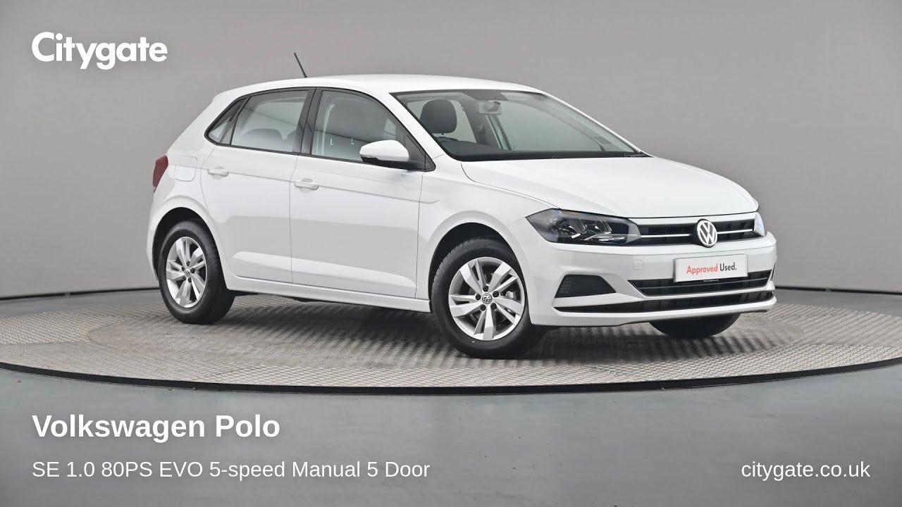 Volkswagen Polo - SE 1.0 80PS EVO 5-speed Manual 5 Door - Citygate Volkswagen High Wycombe - YouTube