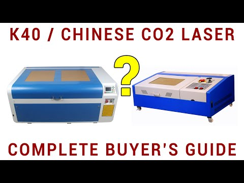 K40/Chinese CO2 Laser Cutter/engraver Buyer's Guide