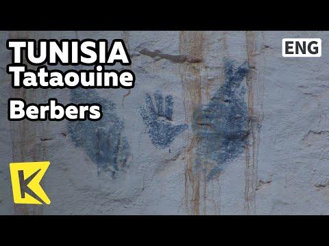 【K】Tunisia Travel-Tataouine[튀니지 여행-타타윈]베르베르족 전통 마을/Berbers/House/Living room/Village
