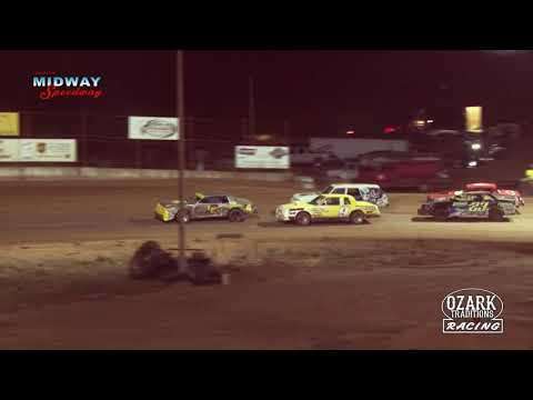 LEBANON MIDWAY SPEEDWAY PURE STOCK HEAT RACE - 4-12-19