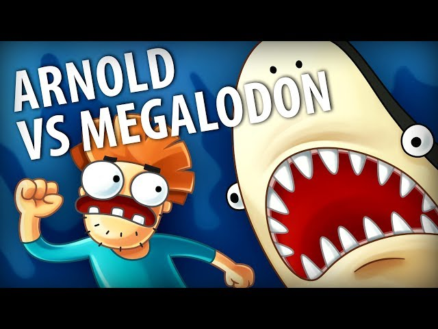 Arnold Fights Off Megalodon