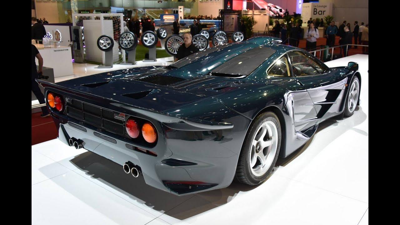 McLAREN F1 XP GT   Exterior And Interior Walkaround   Geneva Motor Show  2015   YouTube