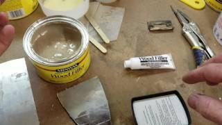Minwax High Performance Wood Filler (Epoxy Resin)