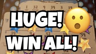 *Huge lottery win caught live* *Claim winner* Lottery challenge vs the big Jackpot! PA vs CO Lottery