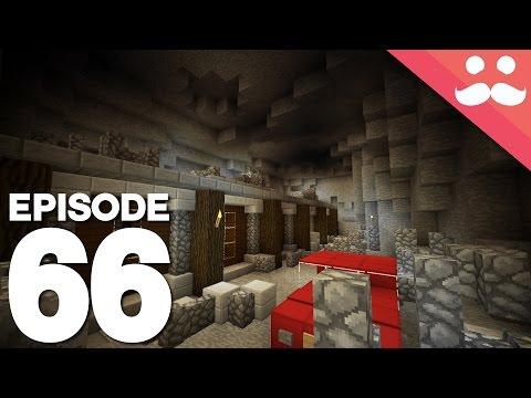 Hermitcraft 4: Episode 66 - BATCAVE Combat...