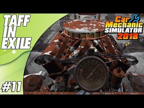 Car Mechanic Simulator 2018   Part 11   Corvette Engine Rebuild