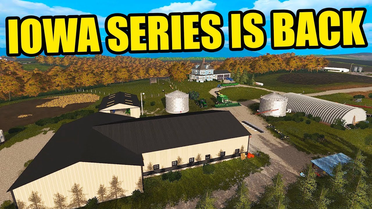 IOWA FARMING SERIES IS BACK! FINSIHING UP HARVEST FOR THE WINTER