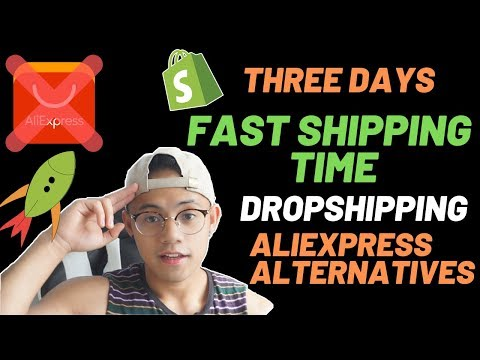 Faster Shipping Times Shopify Dropshipping in 2019 || Best Aliexpress Alternatives thumbnail