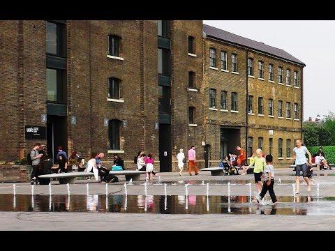 King's Cross Development & Railways over Regent's Canal