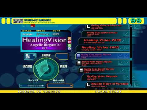 StepMania all healing vision songs (upgrade)