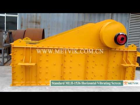 MLH 1536 Horizontal Vibrating Screen of Shanghai Metvik® Company