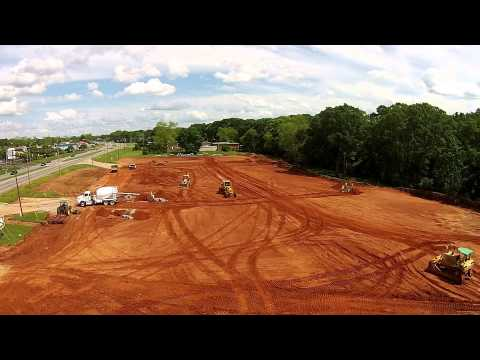Perry Hill Crossing Site Work