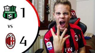 ASFALTATI!!!! - SASSUOLO 1-4 MILAN | LIVE REACTION GOL HD