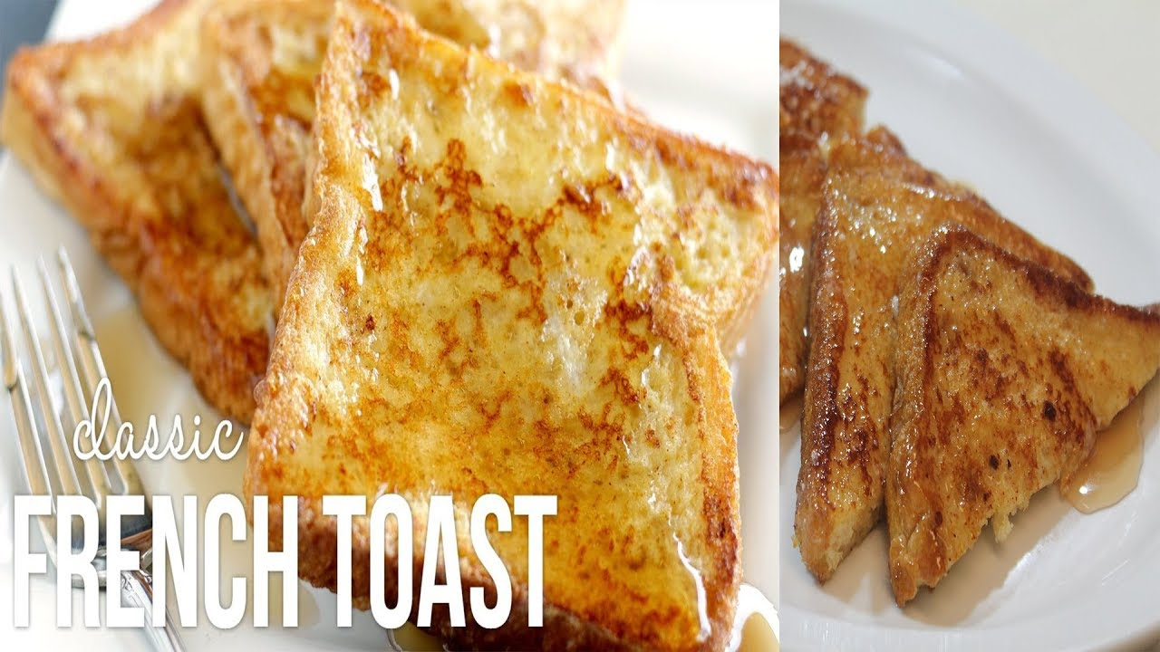 French Toast Recipes  How To Make Simple French Toast  French Toast For  Beginners
