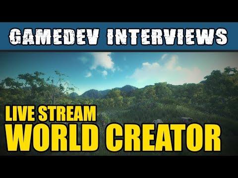 "Unity Interview - ByteTheBytes ""World Creator"" talk to The Messy Coder"