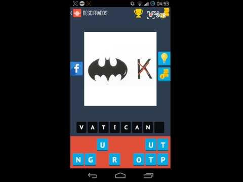 Descifrados   Simbolo de Batman con Letra K Tachada