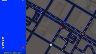 Pacman Google Maps April Fools Day 2015 Free HD Video