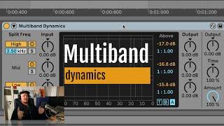 Multiband dynamics: four wąys to control your signal dynamics (Fanu / FI)