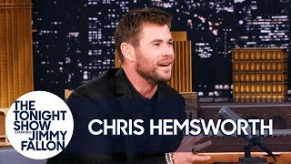 connectYoutube - Chris Hemsworth Sinks an Epic Full-Court Basketball Shot
