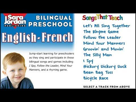 Bilingual Preschool | English-French | Sara Jordan Publishing