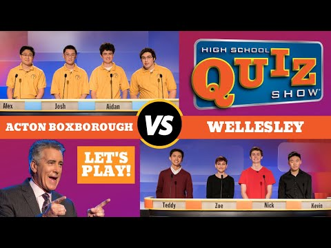 High School Quiz Show - Acton-Boxborough vs. Wellesley (608)