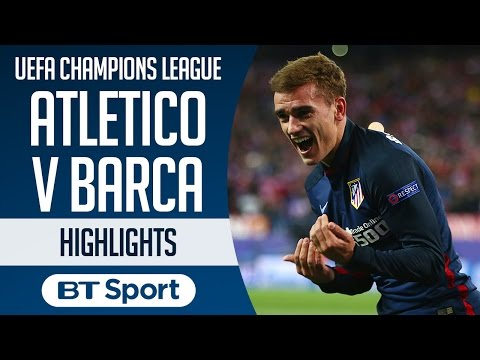 Atletico Madrid 2-0 Barcelona | UEFA Champions League | Goals and Highlights