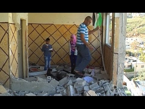 Further Tension As Israel Destroys Home Of Palestinian