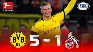 Borussia Dortmund - Colonia [5-1] | GOLES | Jornada 19 | Bundesliga