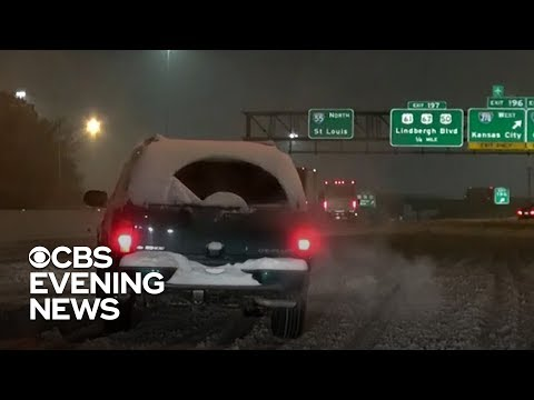 Winter storm turns deadly on the roads, knocks out power to thousands